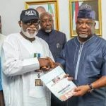 INEC has officially declared the Governor-elect of Ondo State {Report from,Nigeria,Africa)}