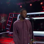 Chike's Elder brother shows up at The Voice
