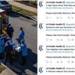 A Los Angeles Health Agency Is Tweeting About A COVID Death Every 10 Minutes To Encourage People To Stay Home