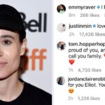 """The Cast Of """"Umbrella Academy"""" Is Rallying Behind Elliot Page After He Came Out As Trans"""