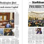 Newspaper Headlines Did Not Hold Back After A Pro-Trump Mob Stormed The Capitol