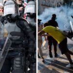 People Are Contrasting Photos From The Attempted Capitol Coup To Those From Black Lives Matter Protests