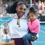 Serena Williams' Daughter Has Been Putting In Some Hours At The Tennis Court Thanks To The Pandemic