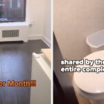 "A Viral TikTok Revealed ""The Worst Apartment"" In NYC And It's So, So Tiny"