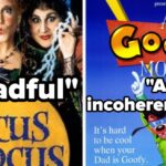 24 Movies You Loved As A Kid That Got Terrible Reviews And The Terrible Things They Said About Each Of Them