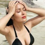 Salma Hayek Explained Why She Won't Stop Posting Bikini Photos