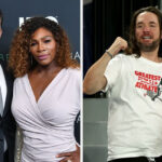 Serena Williams' Husband Alexis Ohanian Supported Her In The Stands With The Greatest GOAT T-Shirt