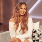 Chrissy Teigen Now Has Long Silver Hair And She Looks Amazing