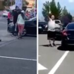 "A Man Drove His Car Through A Crowd At An Anti–Asian Violence Rally And Yelled ""Fuck China"""
