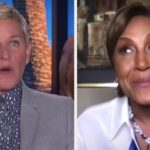 "Robin Roberts Admitted She ""Wet Herself"" During Her First Big Interview, And Ellen Had Questions"
