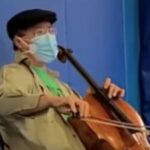 Yo-Yo Ma Performed At A Vaccine Clinic After Getting His COVID Shot