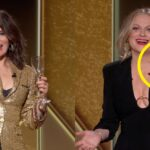 If You Wondered Why Amy Poehler And Tina Fey Had Writing On Their Hands During The Golden Globes, Here's The Answer