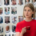 My Head Is Spinning About Where Rosamund Pike Actually Keeps All Her Awards