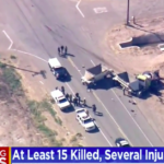 At Least A Dozen People Died After An SUV Crashed Into A Semitruck In California