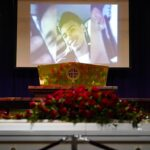 Dozens Gather At A Minneapolis Church For Daunte Wright's Funeral Two Days After Derek Chauvin Was Found Guilty